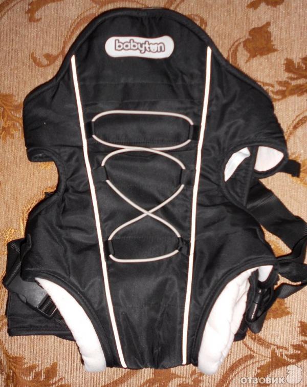 Рюкзак-переноска babyton 809 черный купить рюкзак манго