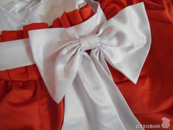 Как шить бант на платья