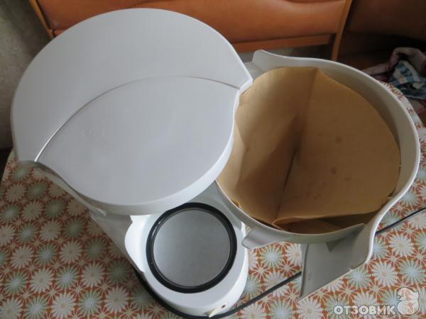 Как сделать фильтр в кофеварку