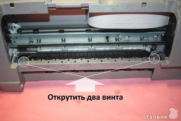 Ремонт принтеров canon pixma своими руками