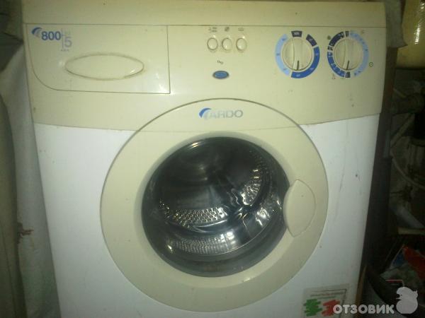 Отзыв стиральная машина ardo a814