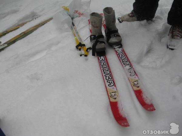 Лыжи детские нововятский лыжный комбинат skimka абкляч в филателии