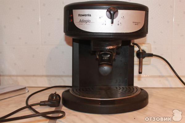 Инструкция по эксплуатации кофемашины ровента