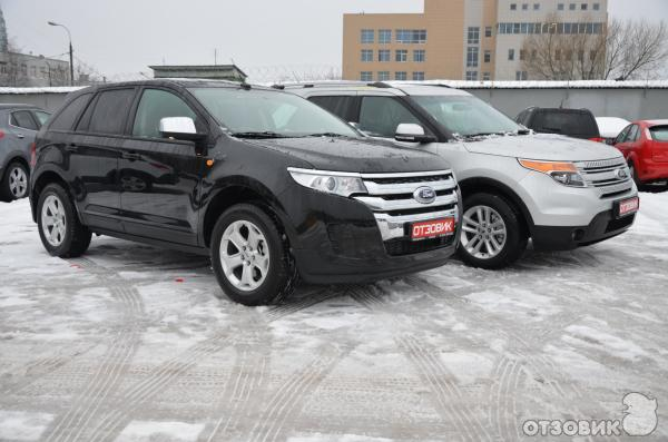 Ford Edge и Ford Explorer