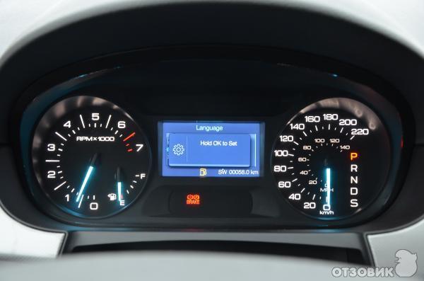 Панель приборов Ford Edge