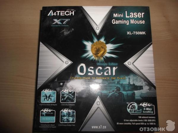 Игровая мышь a4tech f3 x7