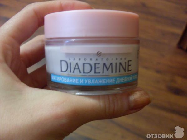 Отзыв о крем diademine матирование и увлажнение хороший крем для жирной кожи.