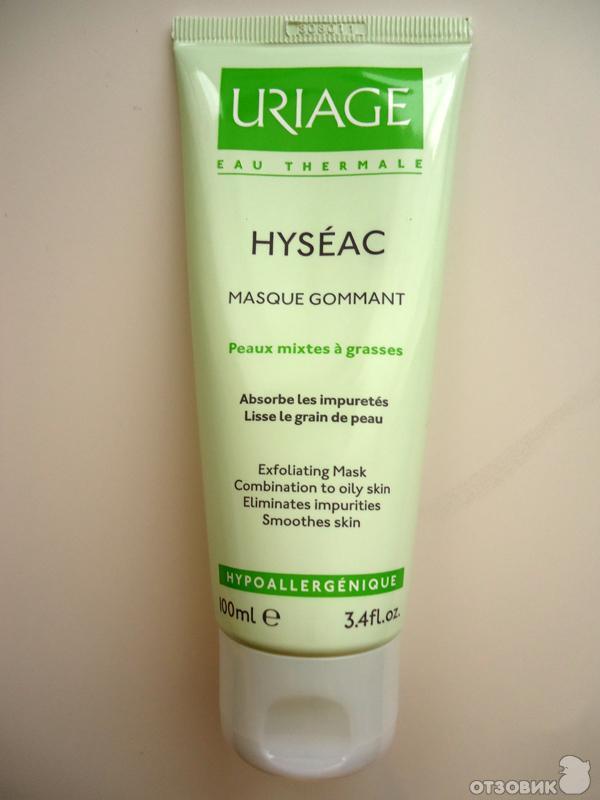 Uriage маска гоммаж hyseac