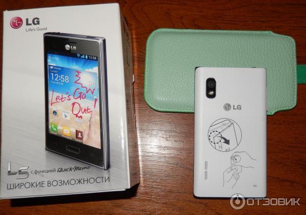 Отзыв сотовый телефон lg e612 optimus l5