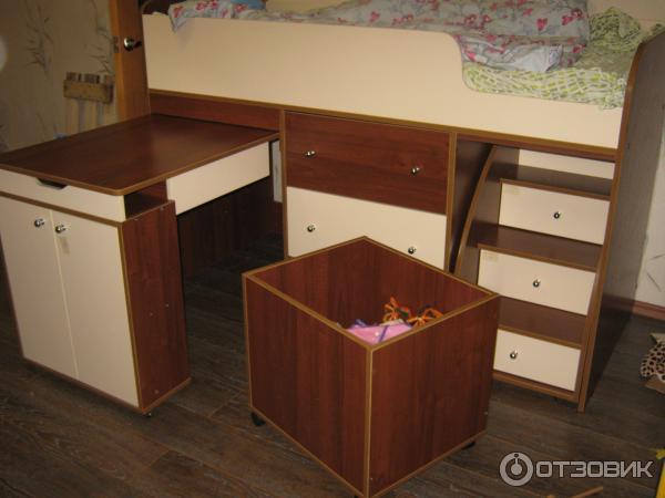 инструкция по сборке кровати-чердака