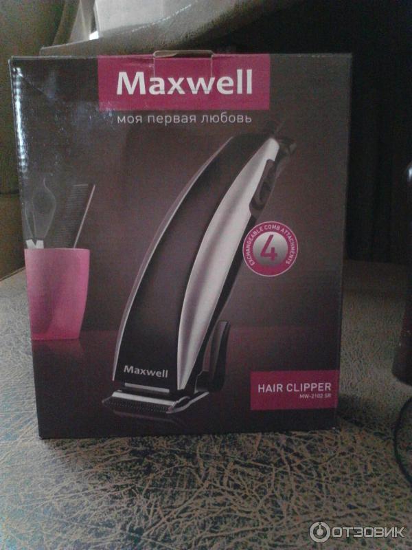 Машинка для стрижки Maxwell