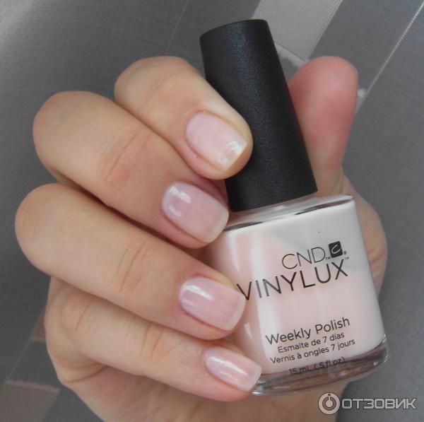 Лак для ногтей CND Vinylux оттенок 126 Lavishly loved фото