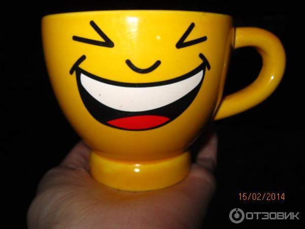 чашка смайлик: