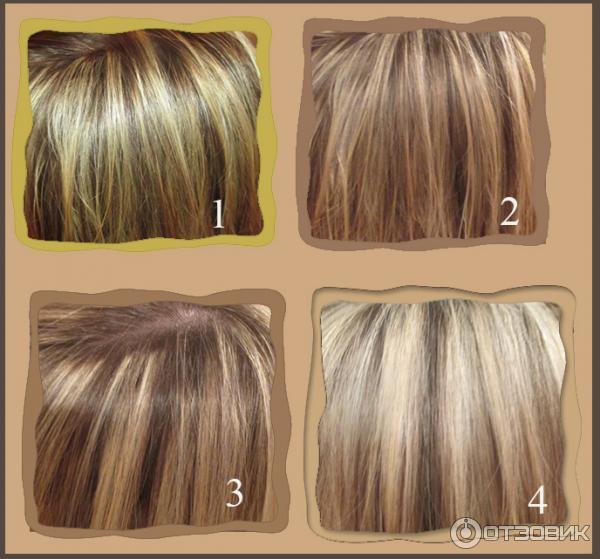 Мелирование тоником на темные волосы
