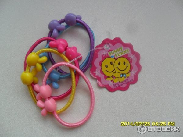 Детские резинки для волос фото