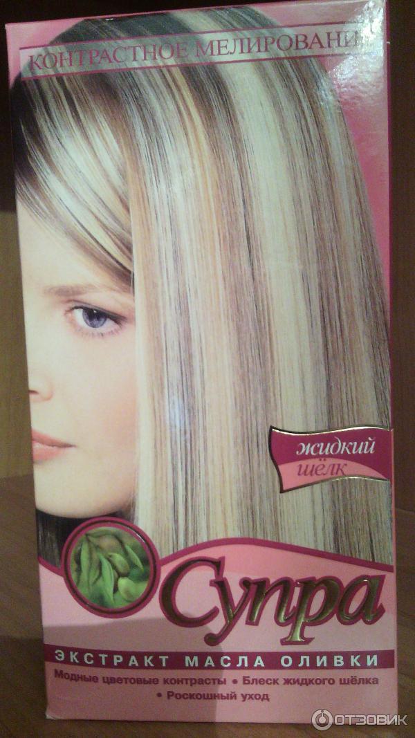 Супра для мелирования волос купить