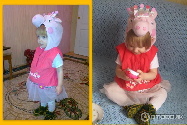 Карнавальный костюм свинка пеппа своими руками 57