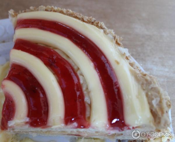 рецепт торт наполеон клубничный фили бейкер