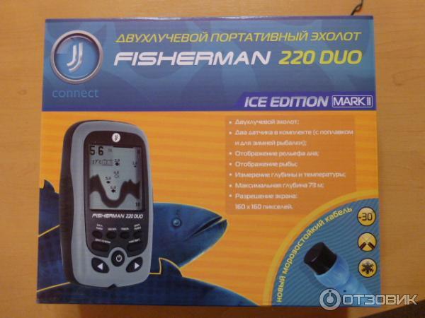 инструкция для эхолот fisherman 120