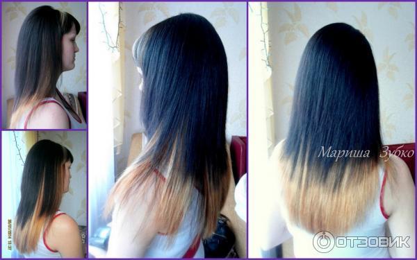 Отзывы омбре на русые волосы фото до и после
