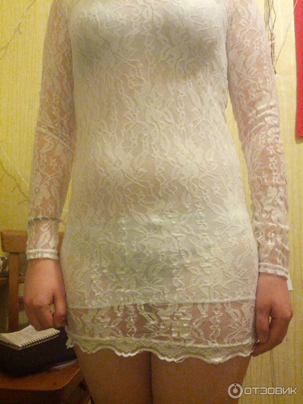Что делать если просвечивает белое платье