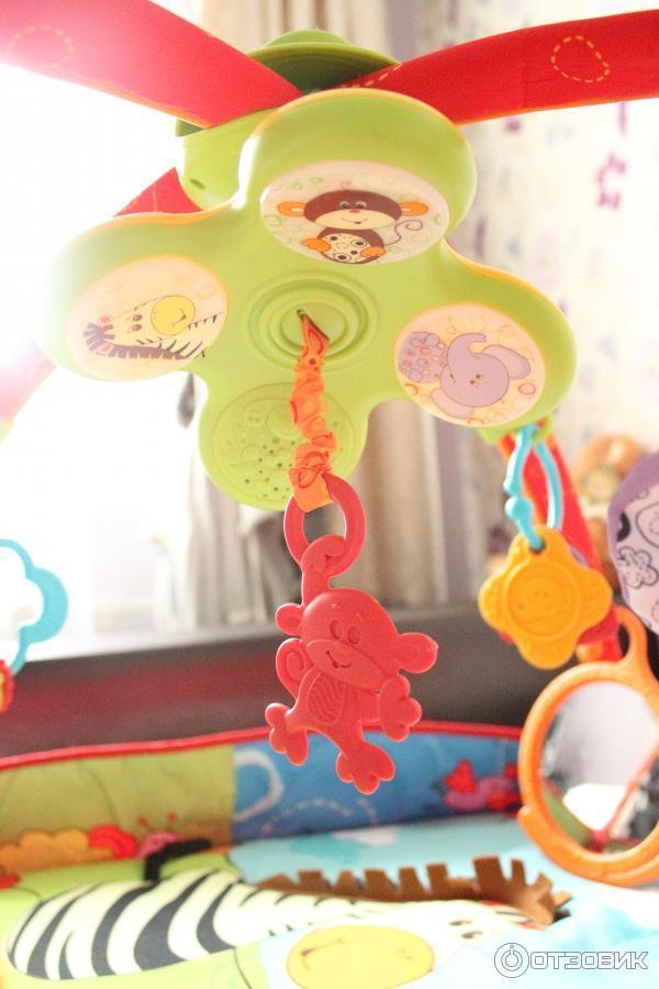 Развивающий коврик tiny love разноцветное сафари отзывы