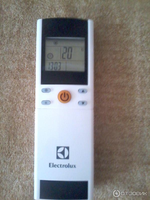пульт для кондиционера электролюкс инструкция - фото 5