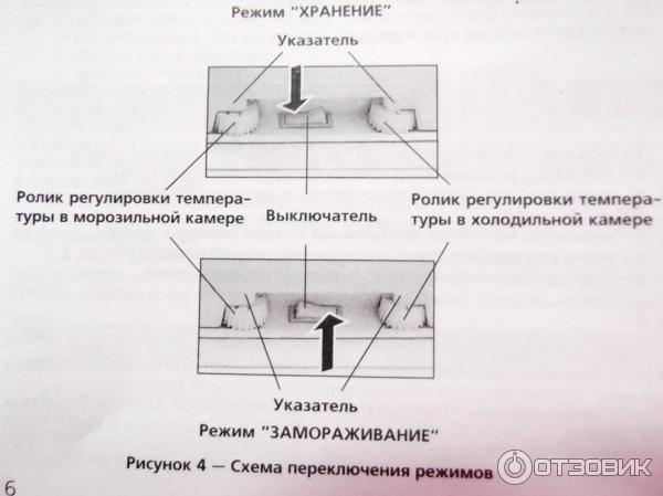 двухкамерный холодильник атлант инструкция
