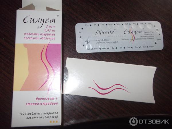 контрацептив силуэт инструкция - фото 3