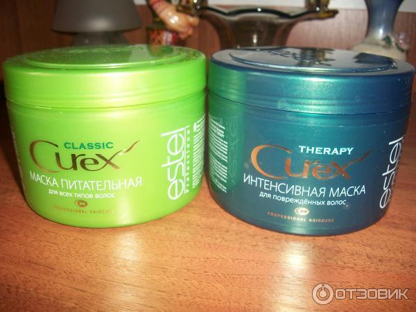 Маска для волос питательная estel curex отзывы