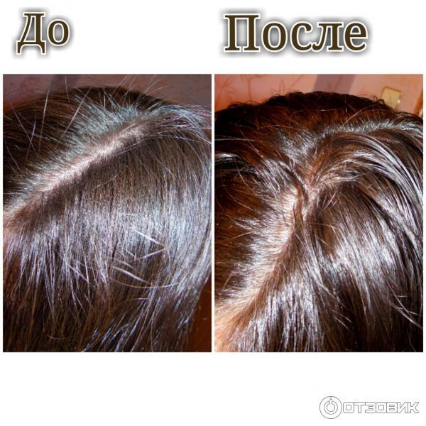 Хна  до и после