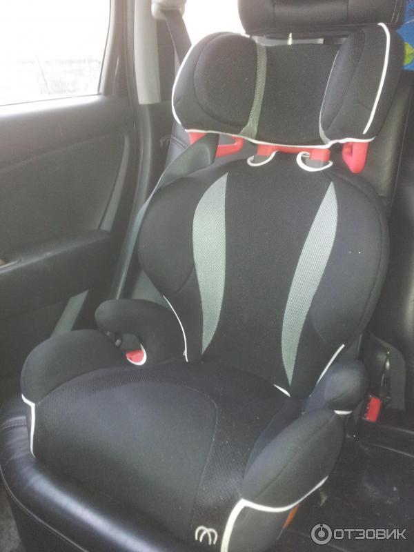 Детское автомобильное кресло Carmate Saratto Highback Junior Quattro фото
