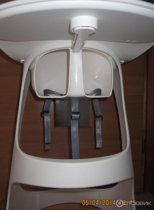 отзыв о стульчик для кормления Ikea леопард непривычная форма