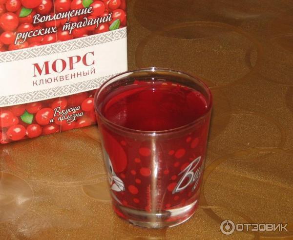 """Отзыв о Морс Северная ягода """"Клюквенный"""" Отличный насыщенный вкус, польза при простудах, профилактика и лечение циститов."""