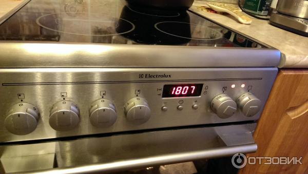 плита электролюкс стеклокерамика инструкция духовка