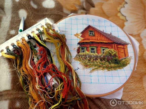Работы вышивка панна