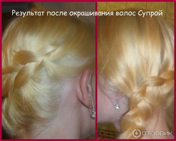 Супра краска для волос отзывы