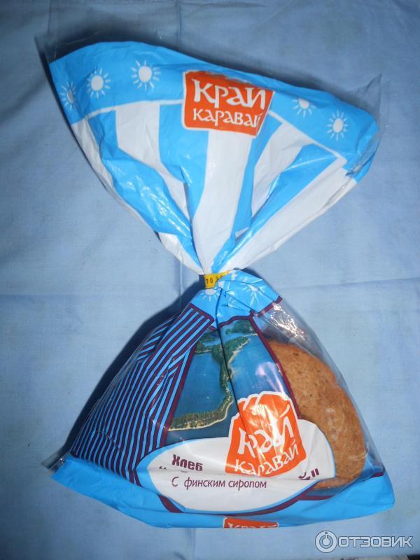 Хлеб ржаной край состав