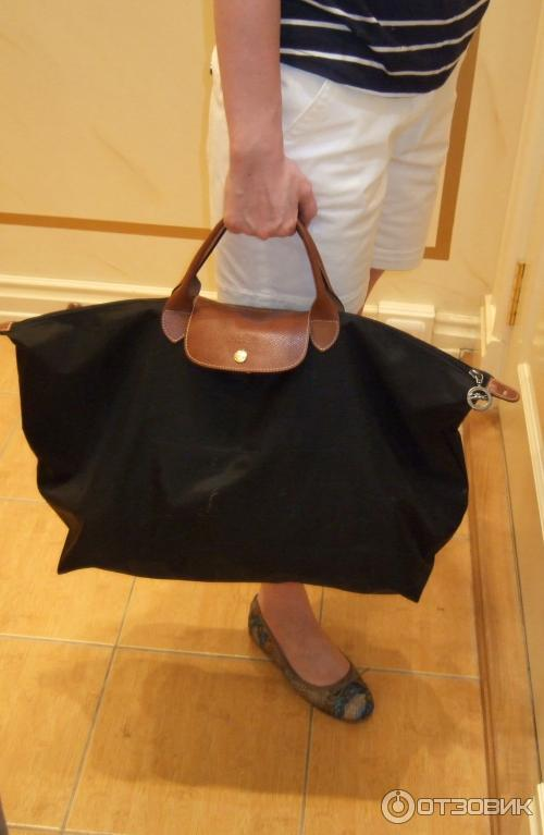 74d5d57ab924 Отзыв о Дорожная женская сумка Longchamp | незаменимая помощница в ...