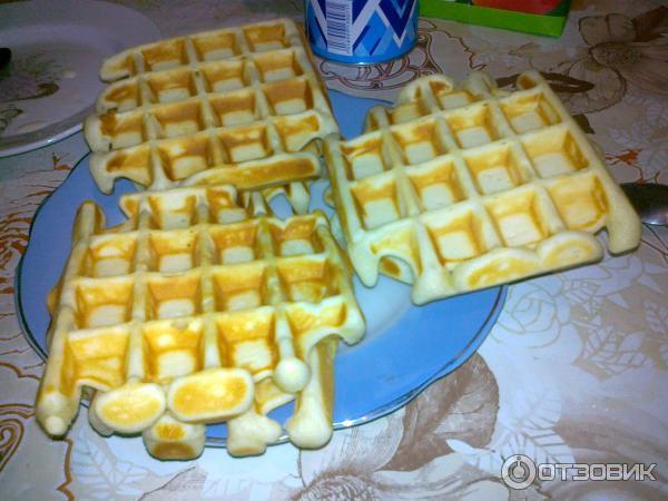 Венские вафли в сэндвичнице рецепт