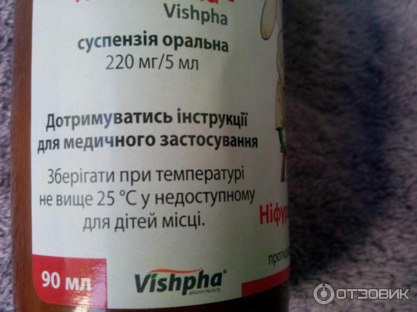 Нифуроксазид-вишфа Инструкция Суспензия Для Детей - фото 8