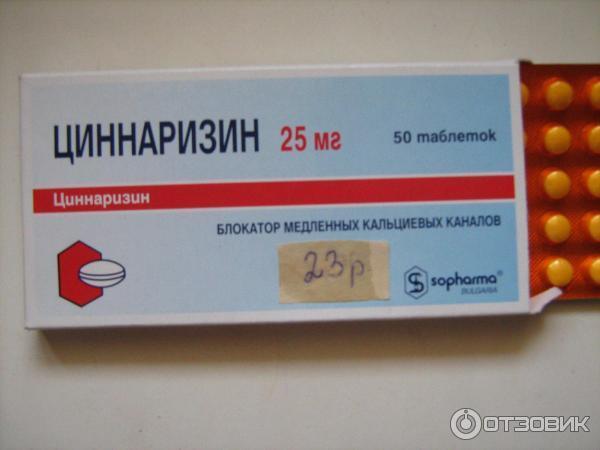 Таблетки при головокружении после травмы