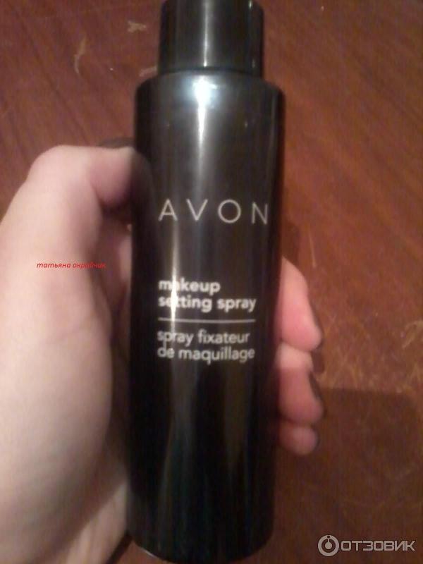 Отзыв о спрее для закрепления макияжа эйвон