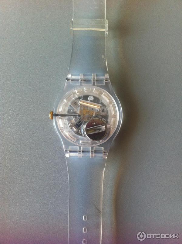 Свотч прозрачные часы