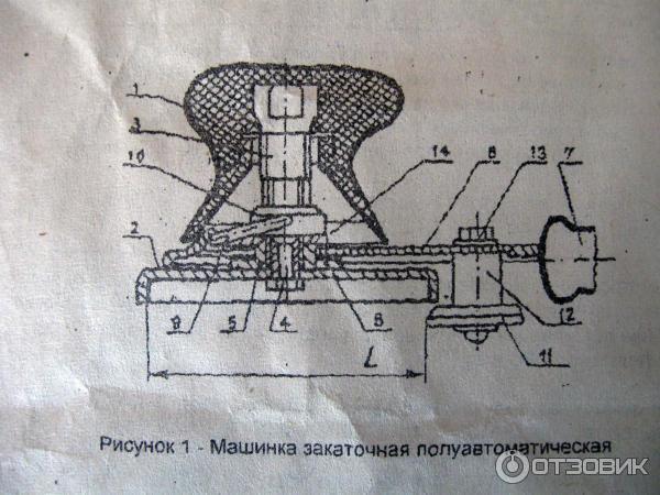 Ремонт закаточной машинки полуавтомат своими руками