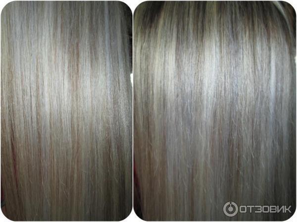 Синька для волос от желтизны