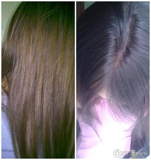 Волосы после тоника