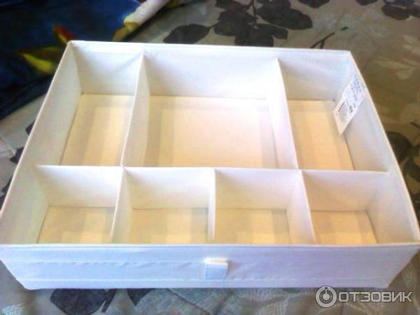 Коробки с отделениями для хранения