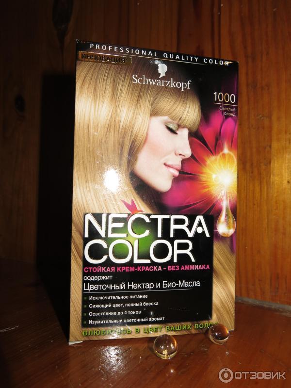 Краска для волос нектар колор отзывы