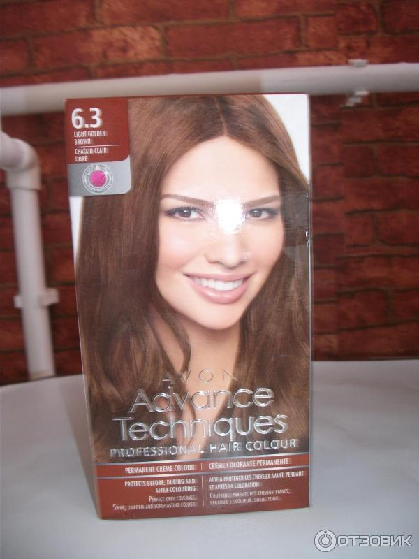 Краска для волос эйвон 6.3